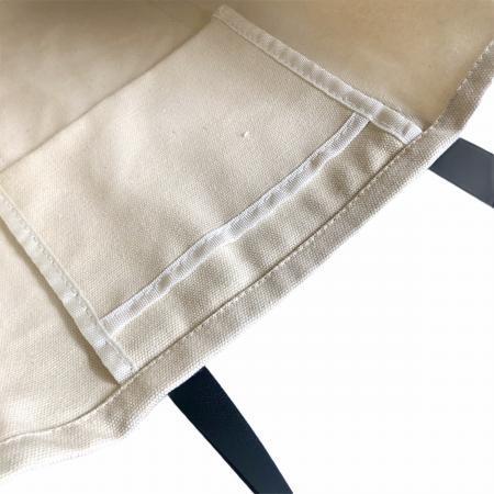 帆布オリジナルショップロゴトートバッグ